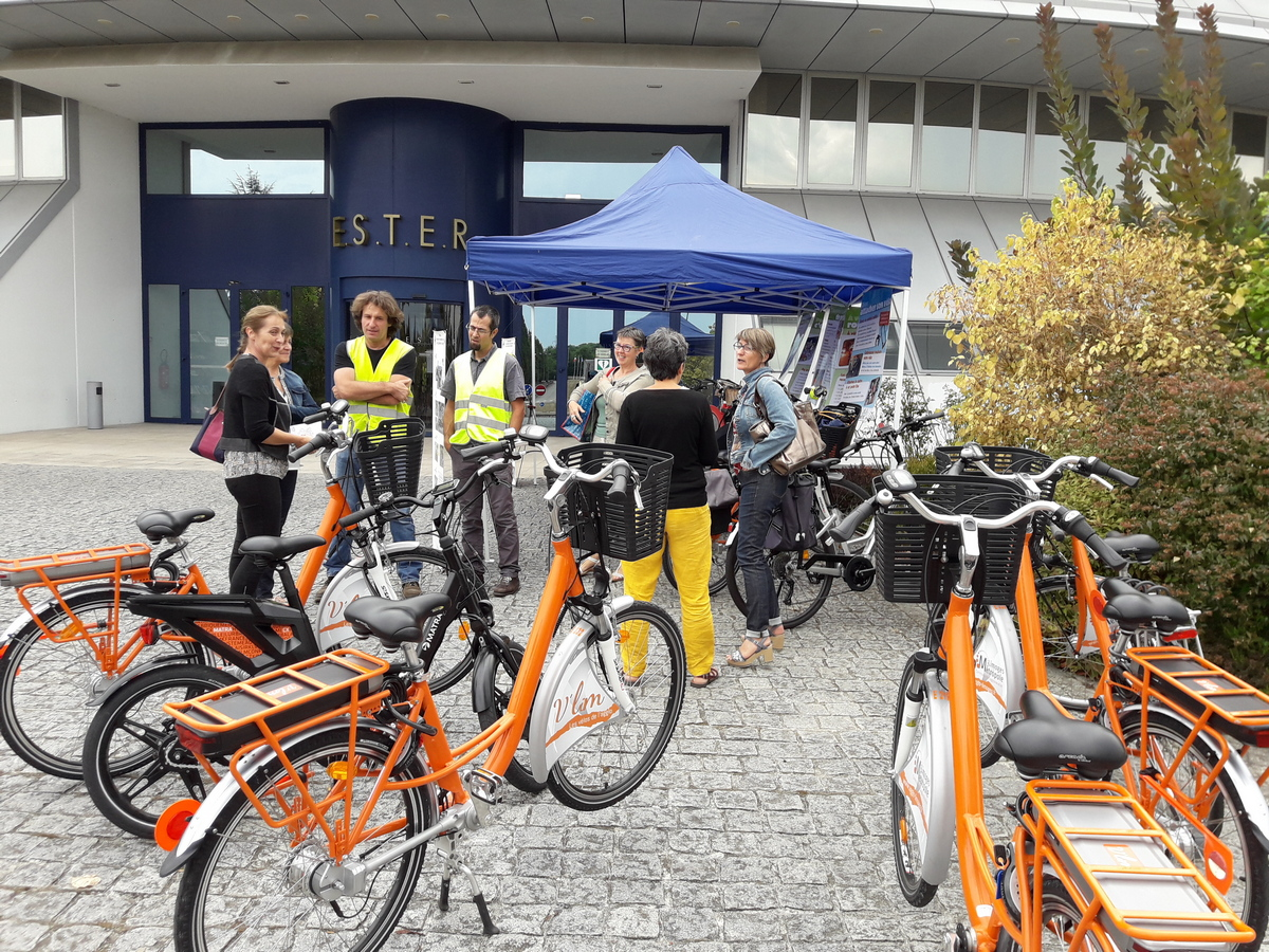 Forum de la mobilité sur le parc d'ESTER